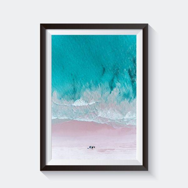 Wedge Beach Photo Canvas Art Prints