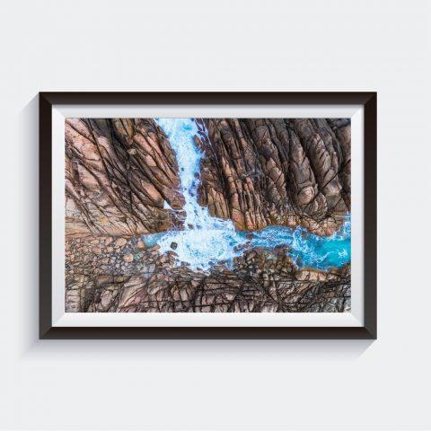 Winter At Wyadup Aerial Framed Art Prints