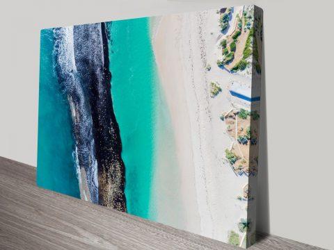 Yanchep Reef Surf photo Canvas Print