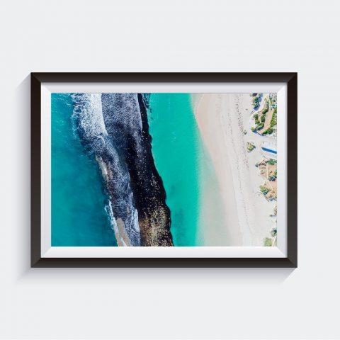 Yanchep Reef Aerial Surf Photo Prints