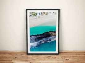 Yanchep Reef Framed Surf Photo Print