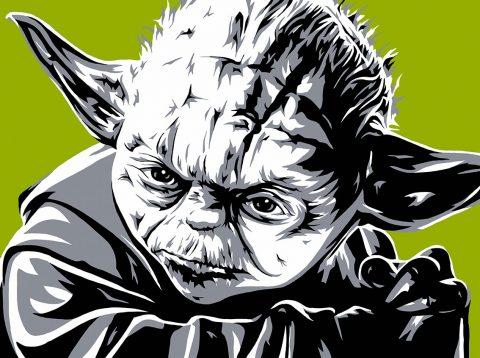 Yoda Pop Art Australia