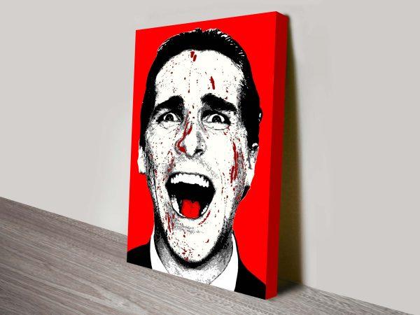 American Psycho Christian Bale Pop Art
