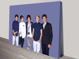 One direction Canvas Art
