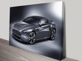 Aston Martin V12 Print on Canvas