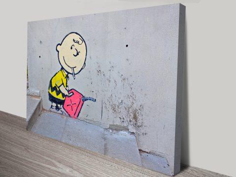Banksy Charlie Brown Art