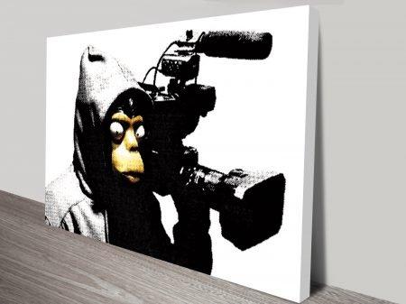 banksy film wall art