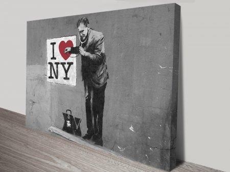 banksy love new york