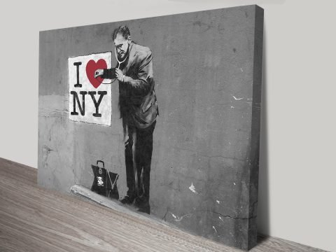 banksy love new york
