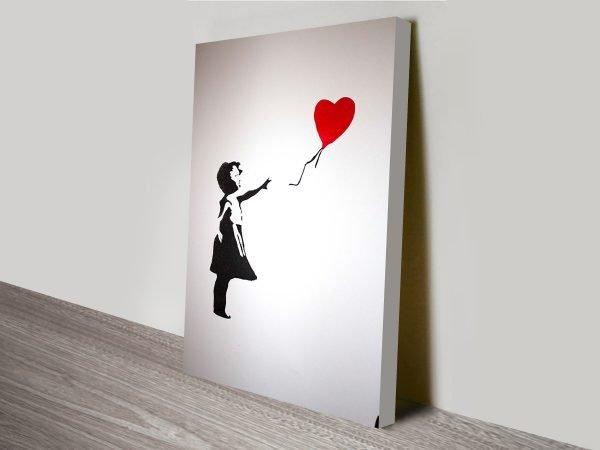 banksy stencil balloon girl art
