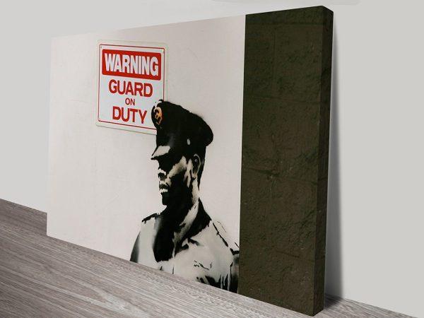 banksy Guard on duty print