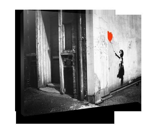 Banksy balloon girl canvas