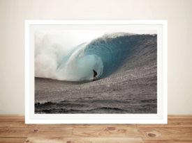 Surfing Silver Seas Art Waves Wall Art Prints Online Australia