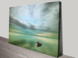 The Calmness of the Sea Canvas Prints Art
