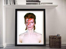 Ziggy Stardust Framed Wall Art