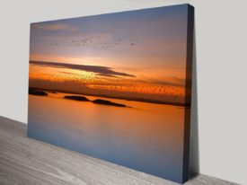 by sunset canvas print preview