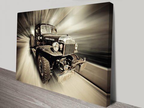 Power Wagon Canvas Wall Art Online Australia