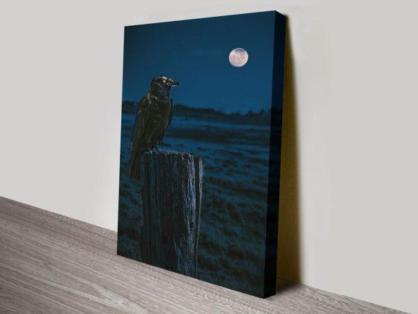 Buy Crowmoon Noel Buttler Canvas Art
