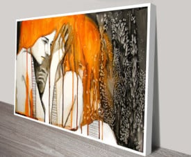 Crying Lady Modern Art Montage Classical Wall Art On Canvas