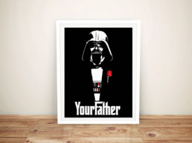 darth-vader-your father Framed Wall Art