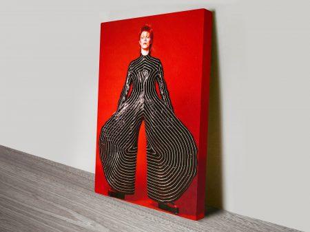David Bowie Pop Art canvas