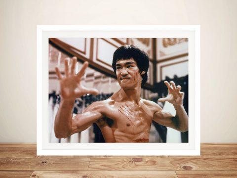Kung Fu Master Bruce Lee