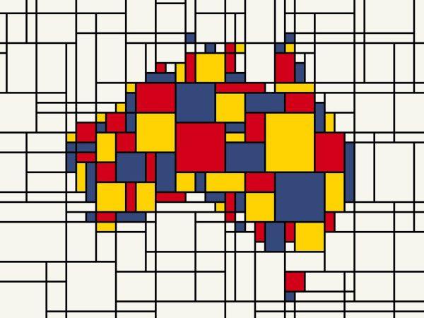 Mondrian-Inspired-Australia-Map-Artwork-by-Tompsett