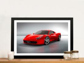 Ferrari Framed Wall Art