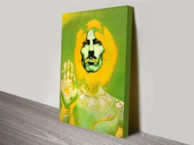 George Harrison Colourful Pop Art