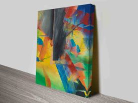 gerhard richter Ingrid canvas print