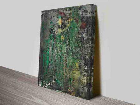 Gerhard richter abstraktes bild Wall art print
