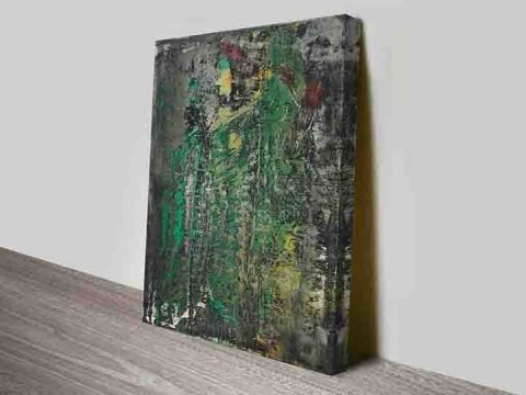 Gerhard richter abstraktes bild Wall art print