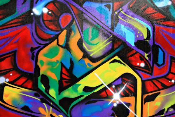 Graffiti Abstract Canvas Art