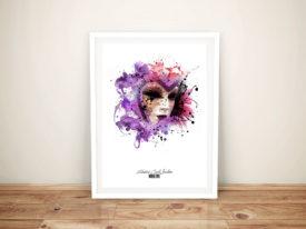 harlequin patrice Murciano Framed Wall Art Online Australia