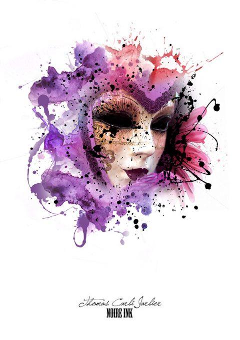 harlequin patrice murciano canvas artwork Sydney
