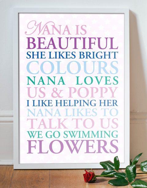 The Things She Loves Custom Word Art Gift Idea Online Australia