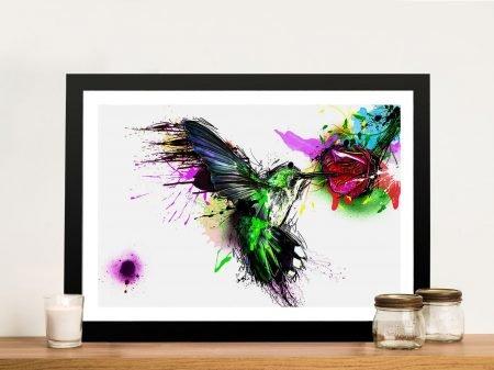 Hummingbird Framed Wall Art