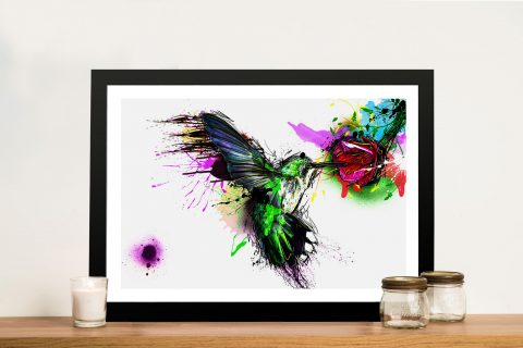 Hummingbird Framed Wall Art