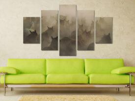 In Dust 5 Piece Artwork Canvas Photo Prints