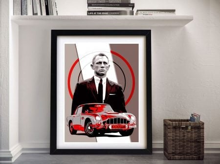 James Bond - Daniel Craig Movie Art | Gift Ideas