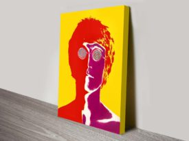 John Lennon Pop Art Print on Canvas