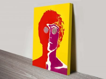 John Lennon Pop Art Print on Canvas