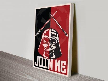 Join Me Propaganda Star Wars Poster