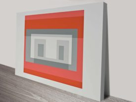 Josef Albers Ten Variants Abstract Wall Art Print
