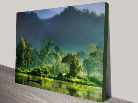 Jungle Lifeline Canvas Wall Art