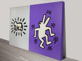 Keith Haring Memorial Tribute Vintage Pop Art