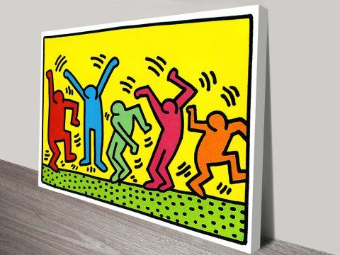Keith Haring Vintage Pop Art Print