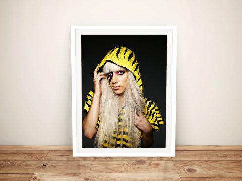 Gaga Yellow And Black Hoodie