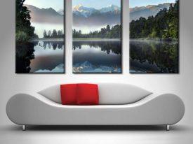 Buy Lake Serenity Three Panel Wall Art