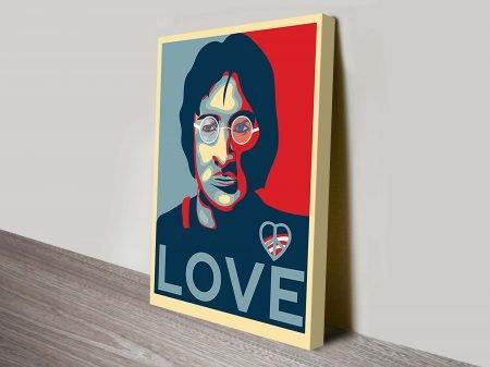 John Lennon Pop Art Canvas Prints
